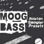 RAW LOOPS_MOOG BASS_ABLETON SAMPLER PRESETS_COVER